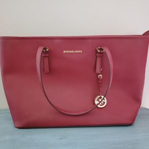 Michael Kors Tulip Pink Jet Set Travel Tote